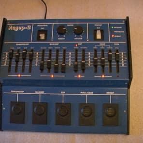 "my home demo Soviet guitar synthesizer ""Lider 2"". Analog, Polivoks, Lel"