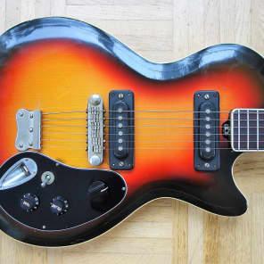 Musima 25k single cut guitar ~1974 Sunburst - rare East German vintage for sale