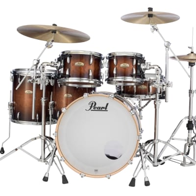 """Pearl Session Studio Select 12""""x8"""" Tom GLOSS BARNWOOD BROWN STS1208T/C314 Drum"""