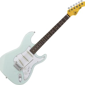 G&L Tribute Series S-500 with Rosewood Fretboard Sonic Blue