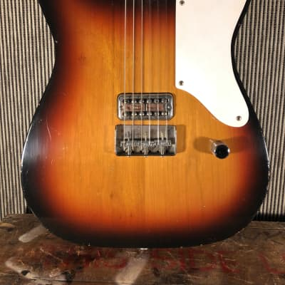 RebelRelic esquire  double cut TV jones  2013 Sunburst for sale