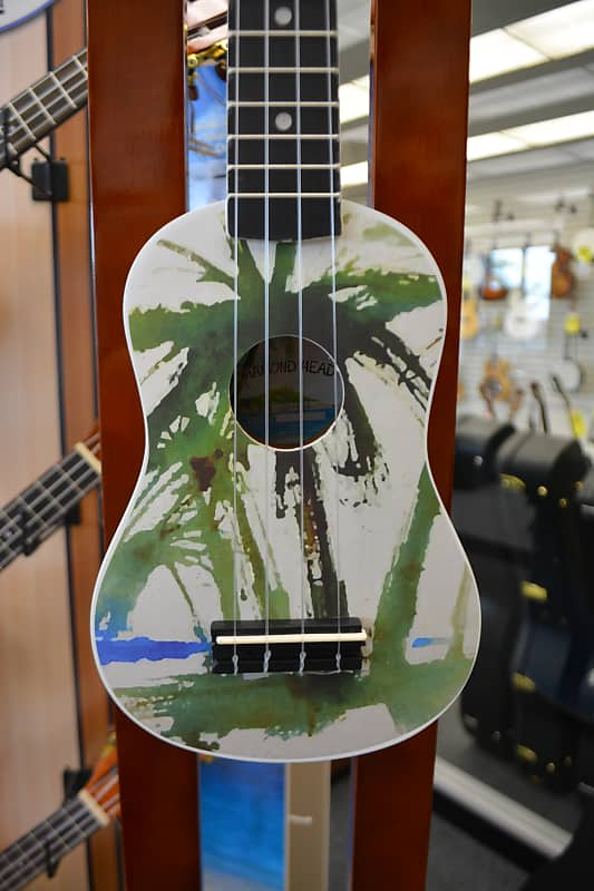 Diamond Head DU-132 Soprano Ukulele - Palm Tree