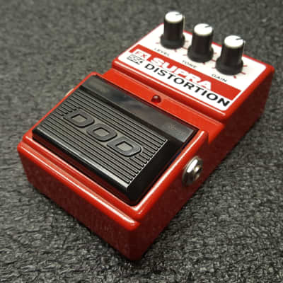 DOD  FX-55C Supra Distortion 1998 Red for sale