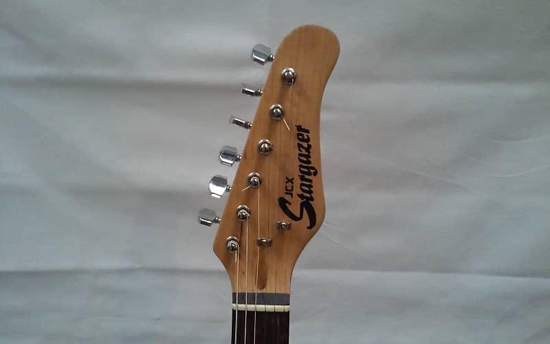 used jcx stargazer electric guitar black reverb. Black Bedroom Furniture Sets. Home Design Ideas
