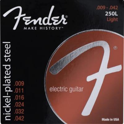 Fender Super 250's Nickel Plated Steel Strings - Light .009 - .042