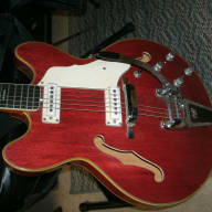 Vox Super Lynx Deluxe 1966 Red for sale