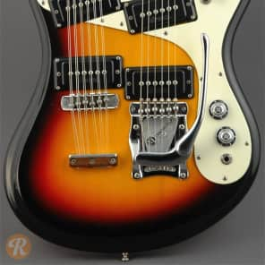 Mosrite Joe Maphis Mark XVIII Sunburst 1966