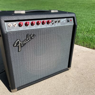 Fender Champ 12 Amplifier (Red Knob, Made in U.S.A.) for sale