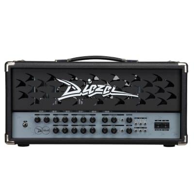 Diezel D-Moll 2.5-Channel 100-Watt Guitar Amp Head Classic Metal Grille for sale