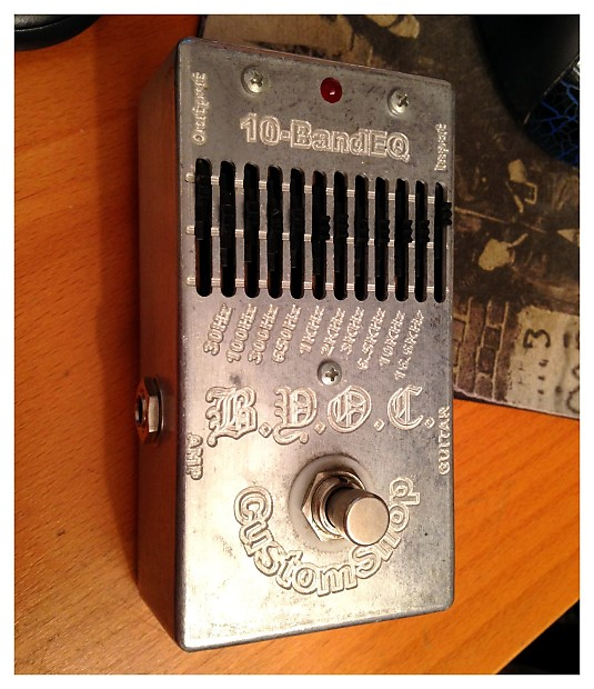 B Y O C  Pre-built 10-band graphic EQ (Build Your Own clone)