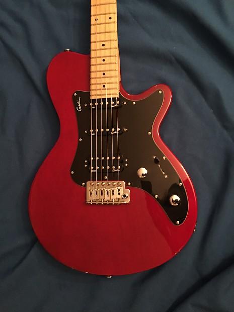 Godin SD 2000s Candy Apple Red   Aragorn Guitars