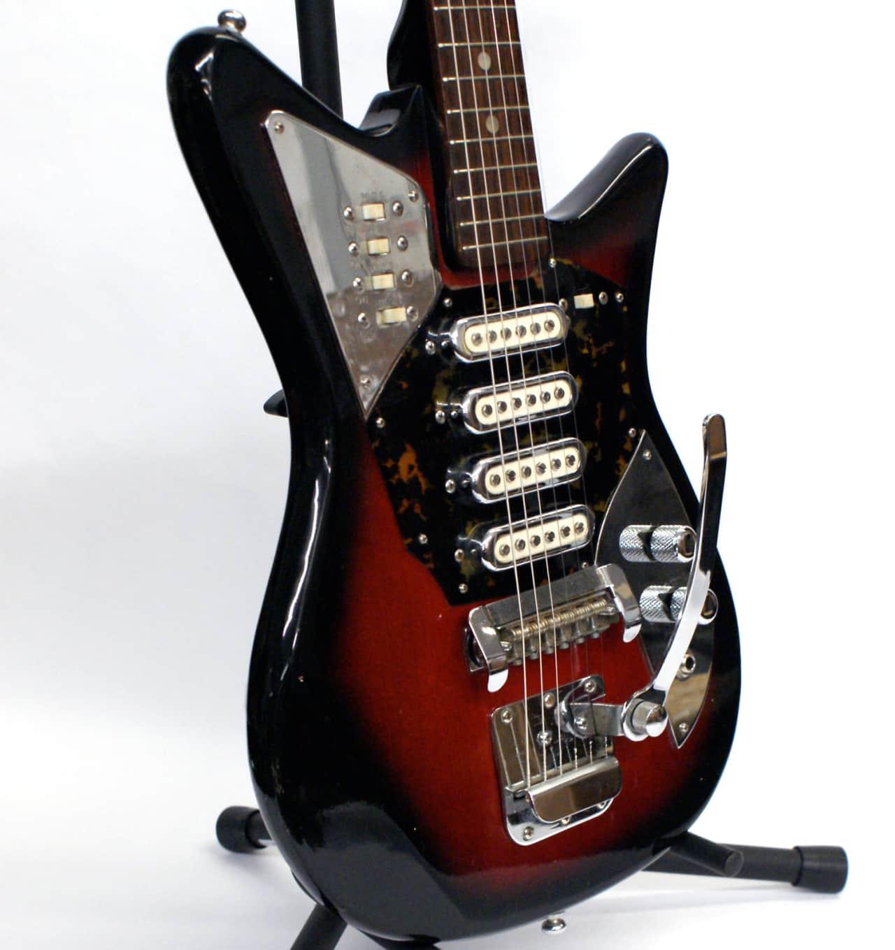 rare vintage sixties 4 pickup st george electric guitar reverb. Black Bedroom Furniture Sets. Home Design Ideas