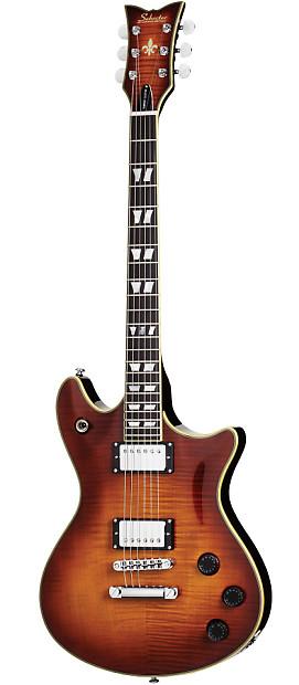 Deluxe Auto Dealer >> Schecter Tempest Custom Electric Guitar - Faded Vintage ...