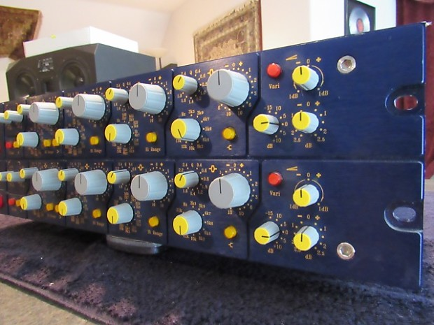 focusrite blue 315 mkII knotched mastering stereo equalizer