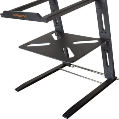 Roland LP-1T Folding Laptop Stand with Shelf
