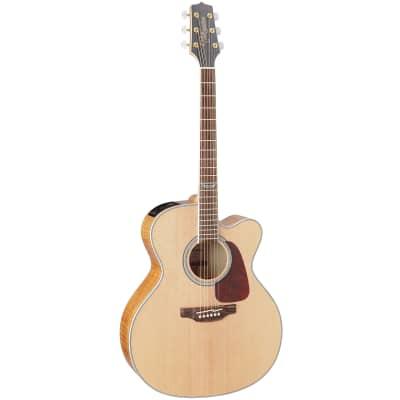 Takamine GJ72CE NAT G70 Series Jumbo Cutaway Acoustic/Electric Guitar Natural Gloss