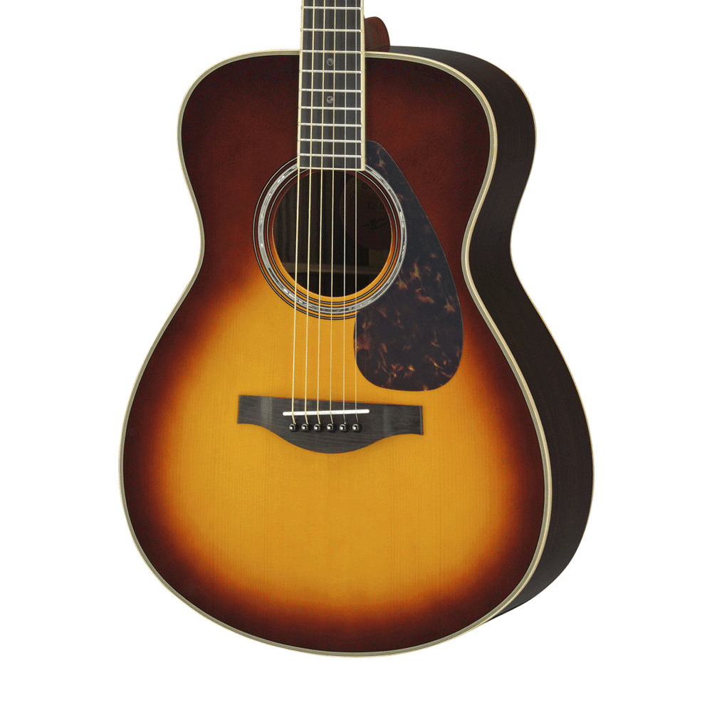 Yamaha ls16 are acoustic electric guitar brown sunburst for Yamaha ls16 vs ll16