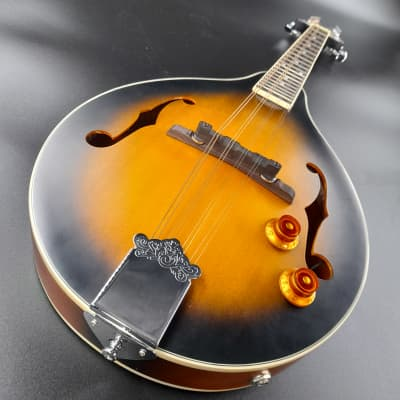 Pilgrim A50EAV - A-Style Mandolin - Antique Burst for sale