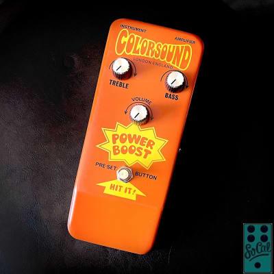 Sola Sound Colorsound 18V Power Boost by Stu Castledine! for sale