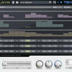 Tek'it Audio DlayR - Pattern Controlled Delay Plug-In (Download)