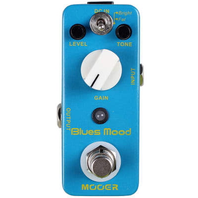 Mooer MBD2 Blues Mood Overdrive Guitar Effects Pedal