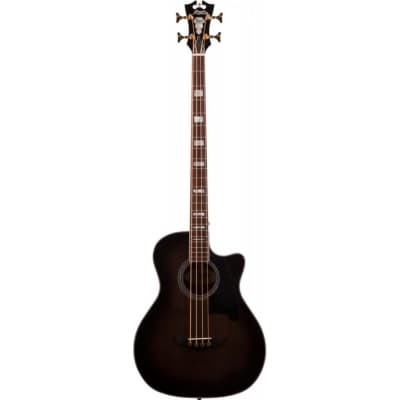 D'Angelico Excel Mott Grand Auditorium Cutaway Acoustic Bass with Electronics