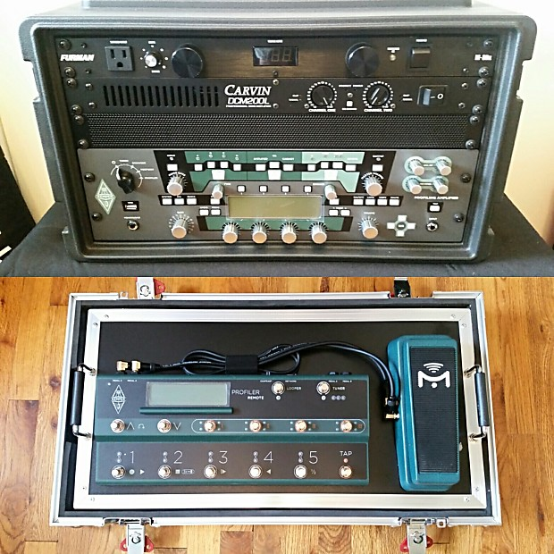 Kemper Profiler Head With Controller Cases Amp More Tour