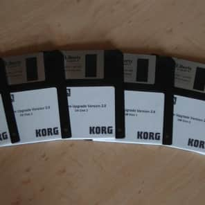 Korg Karma Firmware Upgrade Version 2.0 (6 disk set)