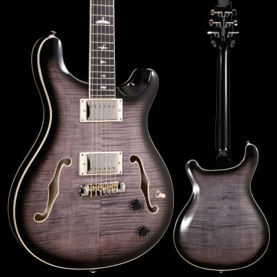 PRS Paul Reed Smith SE Hollowbody II, Charcoal Burst 281 5lbs 15.6oz for sale