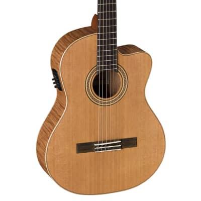 LA MANCHA Rubi CM-EX CWE-RSN - Konzertgitarre mit Tonabnehmer for sale