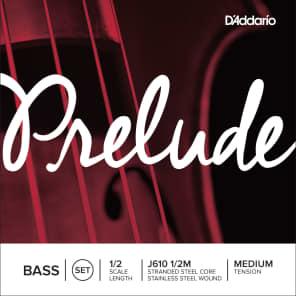 D'Addario J610-1/2 Preulde 1/2-Scale Upright Bass Strings - Medium