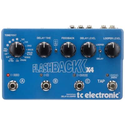 TC Electronic Flashback X4 Delay/Looper Effect Pedal