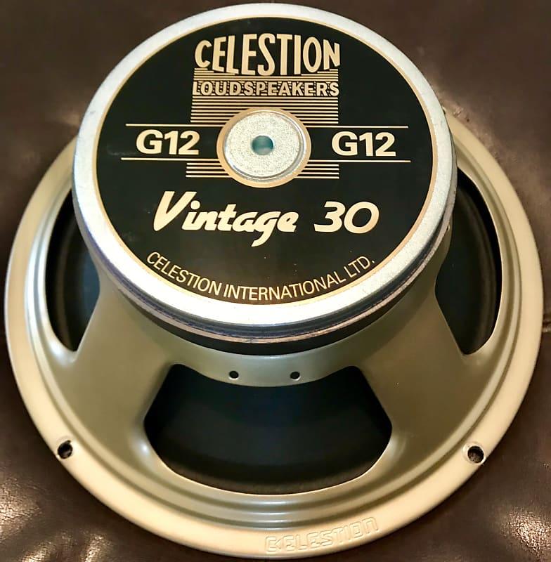 celestion t3904a vintage 30 12 60w 16 ohm speaker reverb. Black Bedroom Furniture Sets. Home Design Ideas