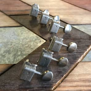 Real Life Relics/ Fender American Vintage Tuning Machines Aged Nickel 0992074000