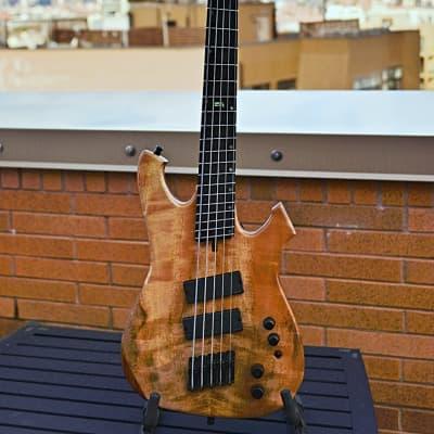 Geist Custom Instruments Phantom BF5 2019 5-String Bass for sale