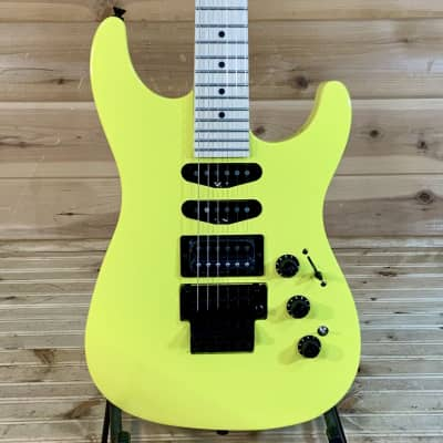 Fender Limited Edition Heavy Metal Stratocaster Electric Guitar - Frozen Yellow