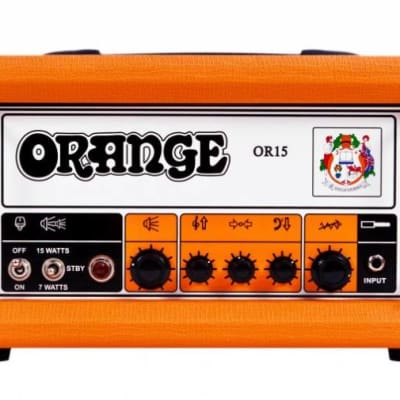 Orange OR15 Compact 15/7 Watt Class A Single Channel 3 Band EQ tube effects loop for sale
