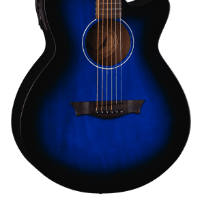Dean AXS Performer Auditorium with Cutaway Blueburst