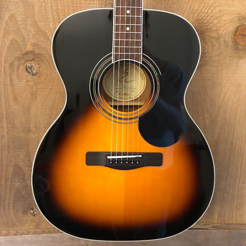 Samick Greg Bennett GOM-100S Acoustic Guitar Vintage Sunburst 2011 w/ Gig Bag