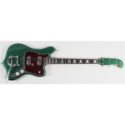 Fender Parallel Universe II Maverick Dorado Ebony Fingerboard, Mystic Pine Green for sale
