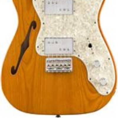 Fender Vintera 70s Telecaster Thinline Maple Neck Aged Natural w/Bag