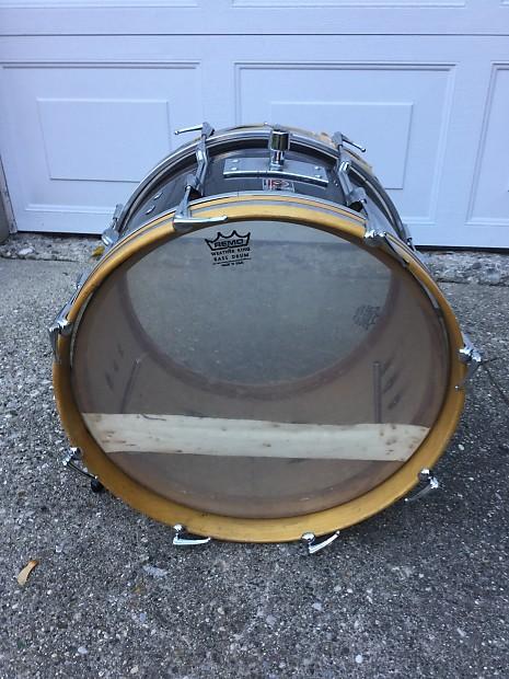 vintage premier 18 bass drum 1960 39 s reverb. Black Bedroom Furniture Sets. Home Design Ideas