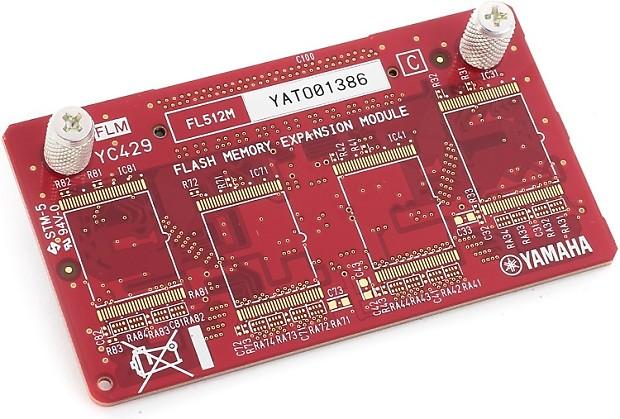 Yamaha  Mb Flash Board For Motif Xf