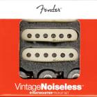 Genuine Fender Noiseless Stratocaster Pickups, Aged White, 099-2115-000 NEW image