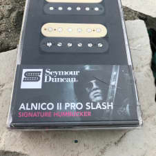 Seymour Duncan Al ico II Pro Slash APH-2 Neck & Bridge Humbucker Pickup Set Slash Alnico II Pro APH-2N & APH-2B Reverse Zebra