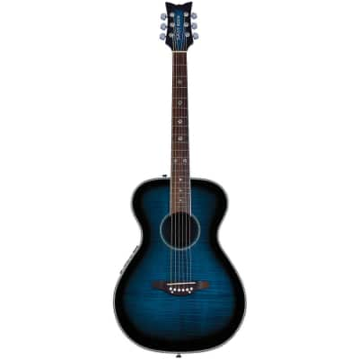 Daisy Rock Pixie Acoustic-Electric Guitar - Blueberry Burst for sale