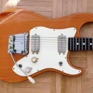 Klira ST-style guitar ~1970 natural - rare German vintage for sale