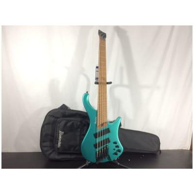 Ibanez EHB1005SMS Headless Multi Scale 5-String Bass, Emerald Green Metallic