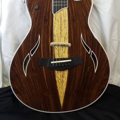 Taylor T5z Custom Limited Edition CocoboloTop, Sapele Body, 6-string Thinline Acoutic/Elect Guitar for sale