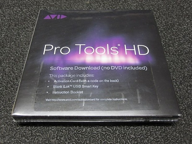 Avid PRO TOOLS 10/11/12 w/ PT HD Perpetual License